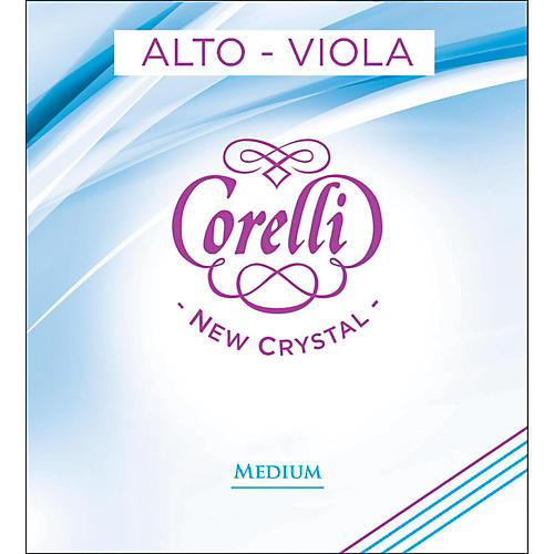 Corelli Crystal Viola String Set-thumbnail