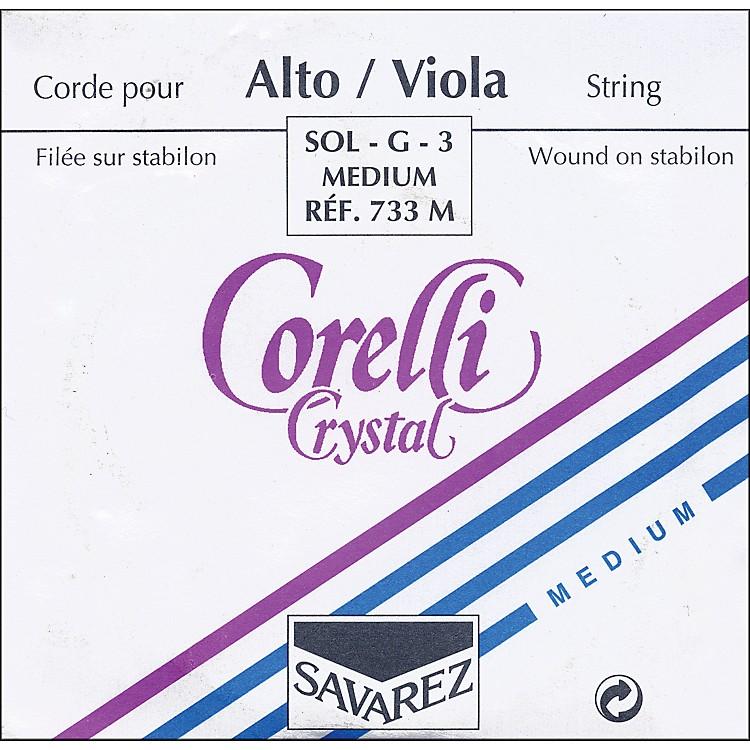 CorelliCrystal Viola StringsG Medium15+ Inch