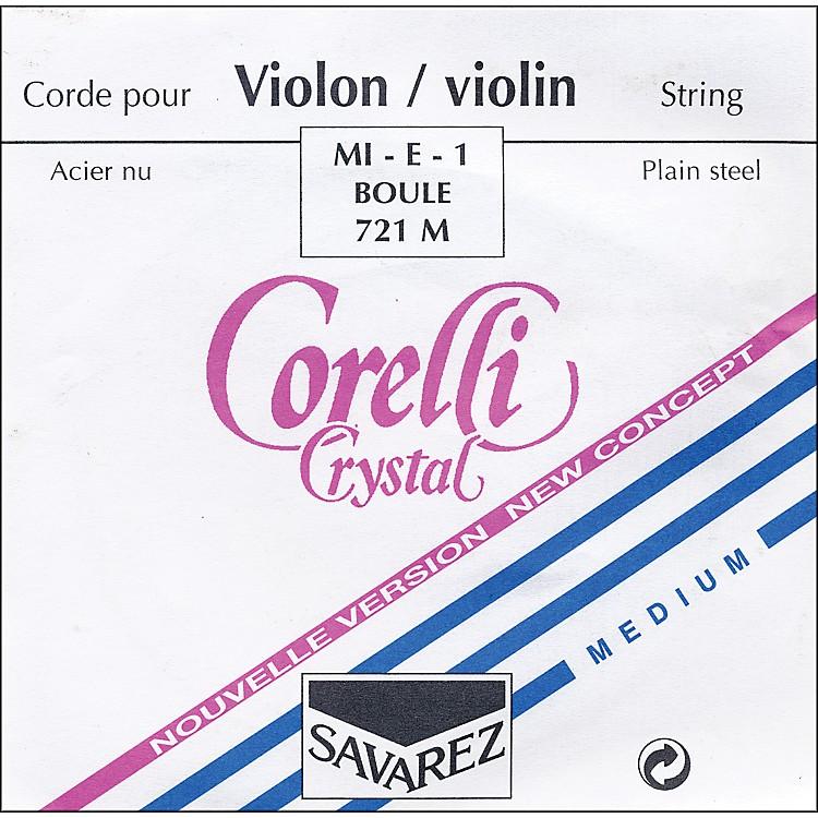 CorelliCrystal Violin StringsE Ball Medium4/4 Size