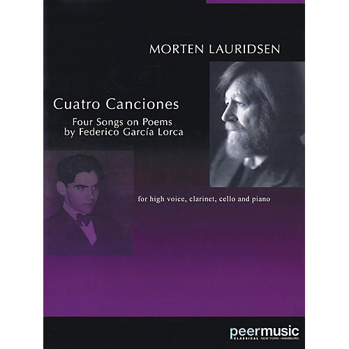 Peer Music Cuatro Canciones (for Soprano, Clarinet, Cello and Piano) Peermusic Classical Series by Morten Lauridsen-thumbnail