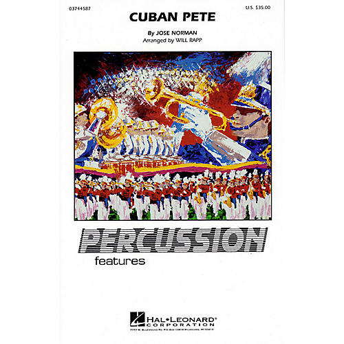 Hal Leonard Cuban Pete (Percussion Feature) Marching Band Level 4