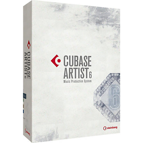 Steinberg Cubase Artist 6 Upgrade from Cubase Elements 6, Cubase Essential 5 and Cubase Essential 4