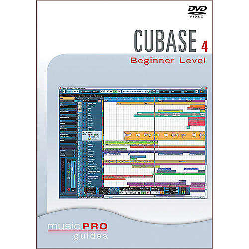 Hal Leonard Cubase SX 4.0 Beginner Level DVD Music Pro Guide Series