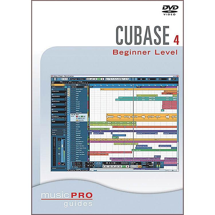 Hal LeonardCubase SX 4.0 Beginner Level DVD Music Pro Guide Series