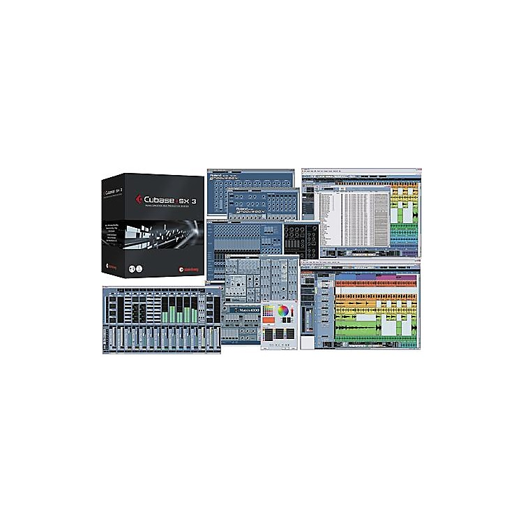 Steinberg Cubase SX3 Recording Software