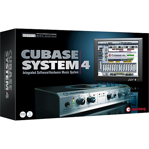 Steinberg Cubase System4 - Integrated Software Hardware Music System