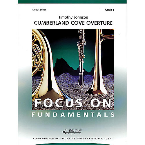 Curnow Music Cumberland Cove Overture (Grade 1 - Score Only) Concert Band Level 1 Composed by Timothy Johnson