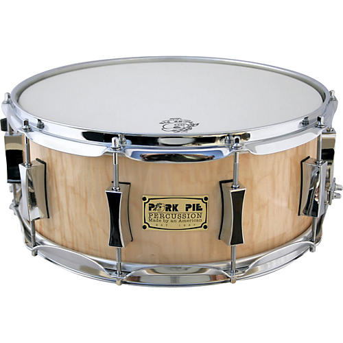 Pork Pie Curly Maple Snare Drum-thumbnail