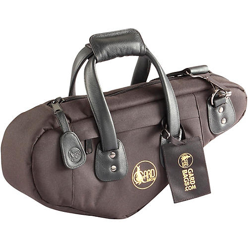 Gard Curved Soprano with Removable Neck Gig Bag (European Model) Synthetic with Leather Trim