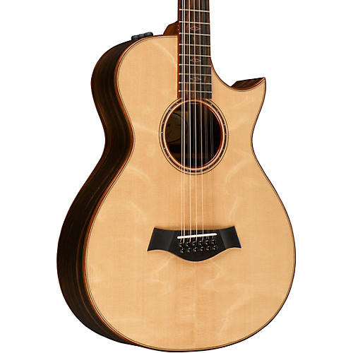 Taylor Custom #10083 12-Fret 12-String Grand Concert Acoustic-Electric Guitar-thumbnail