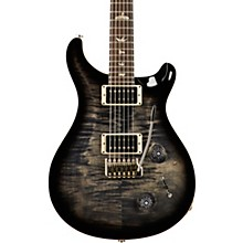 Custom 22 Carved Figured Maple Top with Gen 3 Tremolo Bridge Solid Body Electric Guitar Charcoal Burst