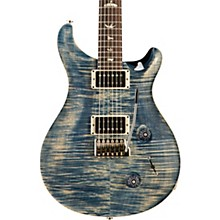 Custom 22 Carved Figured Maple Top with Gen 3 Tremolo Bridge Solid Body Electric Guitar Faded Whale Blue