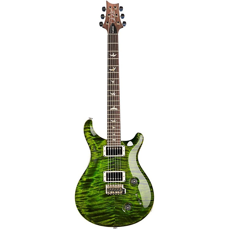 PRS Custom 22 Flame Top Electric Guitar with Pattern Neck Jade