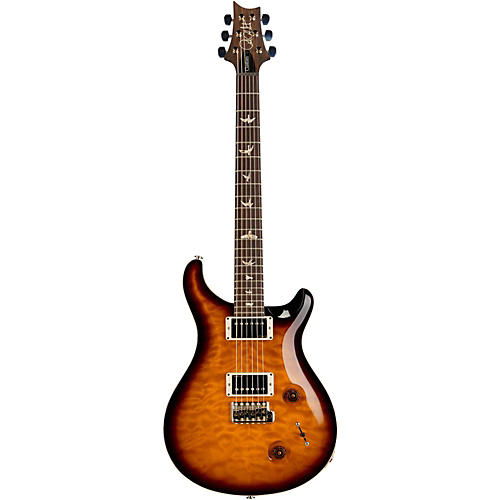 PRS Custom 22 Quilt 10 Top Electric Guitar with Pattern Neck and Tremolo Mccarty Tobacco Sunburst