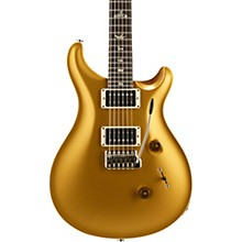 Custom 24 Carved Figured Maple Top with Gen 3 Tremolo Solid Body Electric Guitar Gold Top