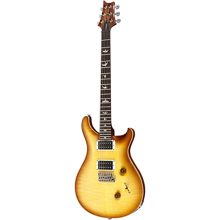 PRS Custom 24 Figured Top Pattern Thin Indian Rosewood Neck Livingston Lemondrop Nickel Hardware