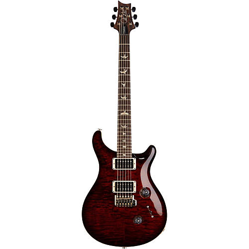 PRS Custom 24 Quilt 10-Top Electric Guitar with Pattern/Regular Neck