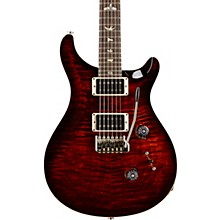 Custom 24 with Carved Top Electric Guitar Fire Red Burst