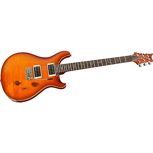 PRS Custom 24 with Quilt Top and Birds plus 5-Way Blade Electric Guitar