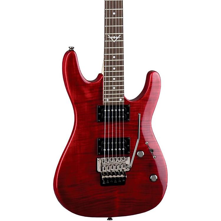DeanCustom 350F Electric GuitarTransparent Red