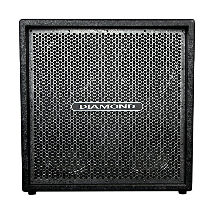 Diamond Amplification Custom 4x12 120W 8 Ohm Guitar Cab Black Silver Metal Grill