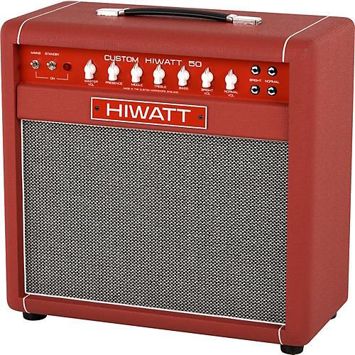 Hiwatt Custom 50W 1X12 Tube Guitar Combo Amp-thumbnail