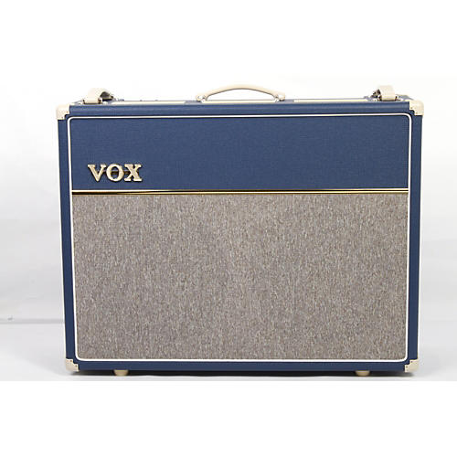 Vox Custom AC30C2-BL 30W 2x12 Limited Edition Blue Tube Guitar Combo Amp-thumbnail