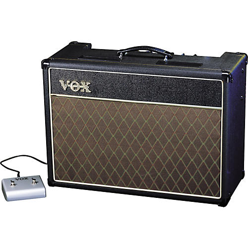Vox Custom Classic AC15CC1X 15w 1x12 Tube Guitar Combo Amp with Alnico Blues