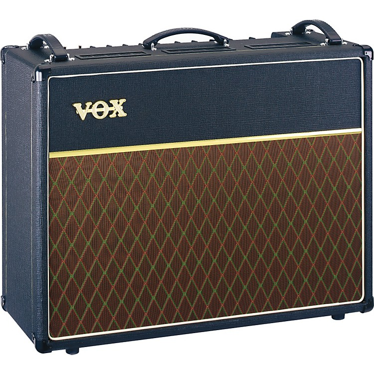 Vox Custom Classic AC30CC2X 30w 2x12 Tube Guitar Combo Amp with Alnico Blues