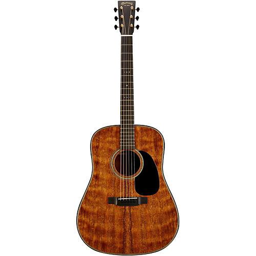 Martin Custom D-18 Quilted Mahogany Dreadnought Acoustic Guitar-thumbnail
