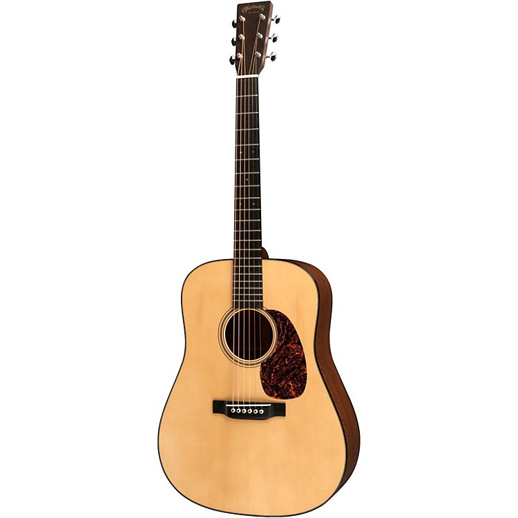 Martin Custom D Master Flamed Mahogany Acoustic Guitar Natural