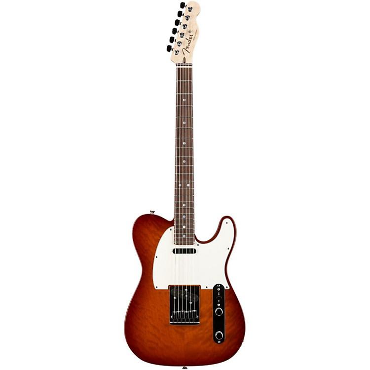 Fender Custom ShopCustom Deluxe Telecaster Electric Guitar with Rosewood FingerboardViolin BurstRosewood
