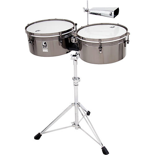 Toca Custom Deluxe Timbale Set