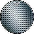 Remo Custom Diamond Plate Graphic Bass Drum Head  22 Inches