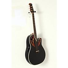 Ovation Custom Elite C2078 AX Deep Contour Acoustic-Electric Guitar Level 2 Black 190839090393