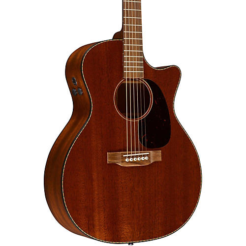 martin custom gpc15m acoustic electric guitar mahogany musician 39 s friend. Black Bedroom Furniture Sets. Home Design Ideas