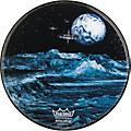 Remo Custom Graphic Blue Moon Resonant Bass Drum Head  22 in.Thumbnail
