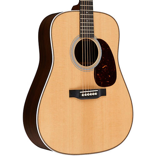 Martin Custom HD-28 VTS Dreadnought Acoustic Guitar Natural