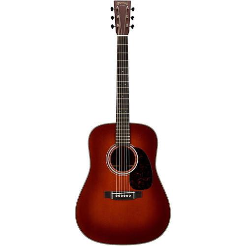Martin Custom HD28V Madagascar Rosewood Back and Sides Acoustic Guitar1933 Sunburst-thumbnail