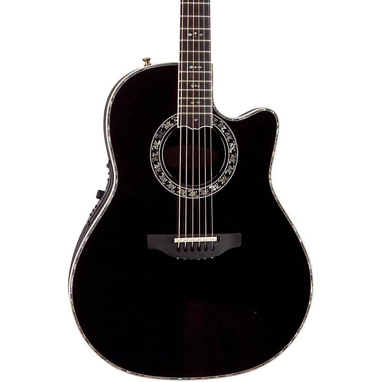 OvationCustom Legend C2079 AX Deep Contour Acoustic-Electric GuitarBlack