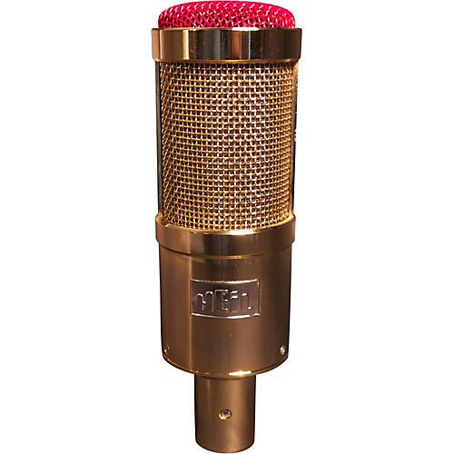 Heil Sound Custom PR40 Large Diaphragm Multipurpose Dynamic Microphone Regular Gold w/ Red End Grill-thumbnail