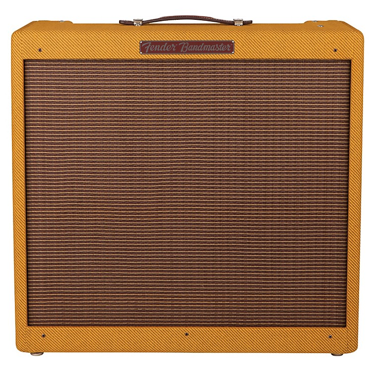 Fender Custom Series '57 Bandmaster Tube Hand-Wired Guitar Combo Amplifier Tweed