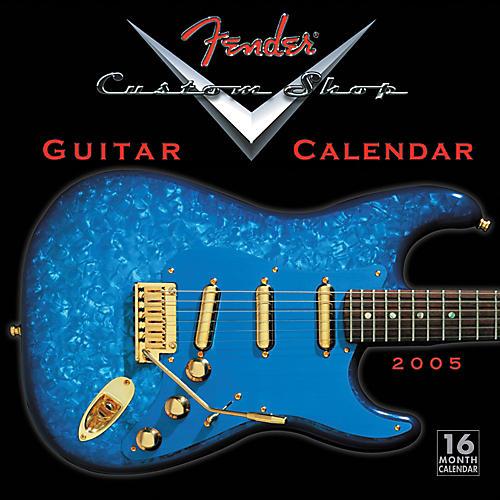 Fender Custom Shop 2005 Wall Calendar