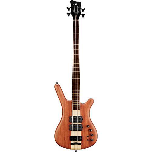 Warwick Custom Shop Corvette $$ Double Buck Neck-Thru Electric Bass Natural Oil