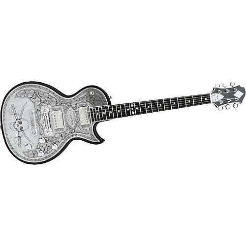 Zemaitis Custom Shop MF500-SKULL Electric Guitar