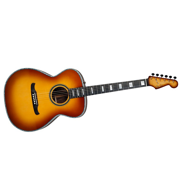 FenderCustom Shop Newporter Acoustic GuitarSunburst