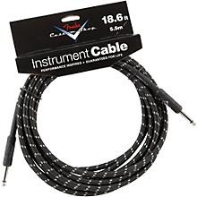 Fender Custom Shop Performance Series Instrument Cable Black Tweed 18.6 ft.