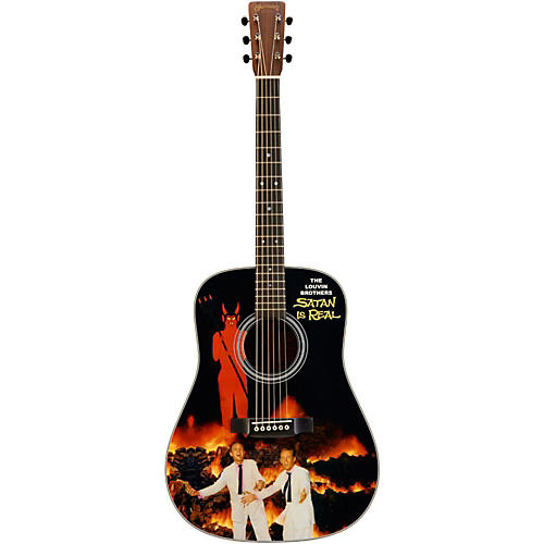 Martin Custom Signature Edition Louvin Brothers D-28 Dreadnought Acoustic Guitar-thumbnail