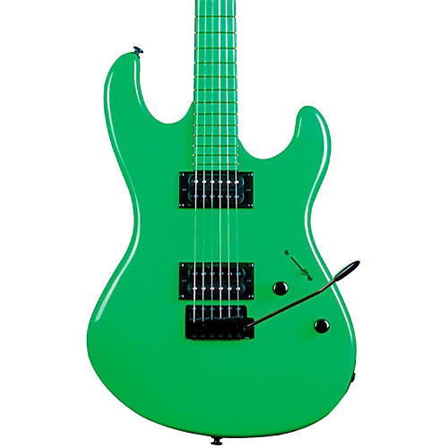 Dean Custom Zone Electric Guitar Nuclear Green