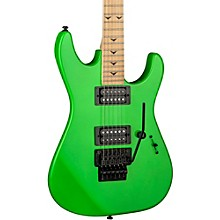 Dean Custom Zone II Floyd Electric Guitar Nuclear Green